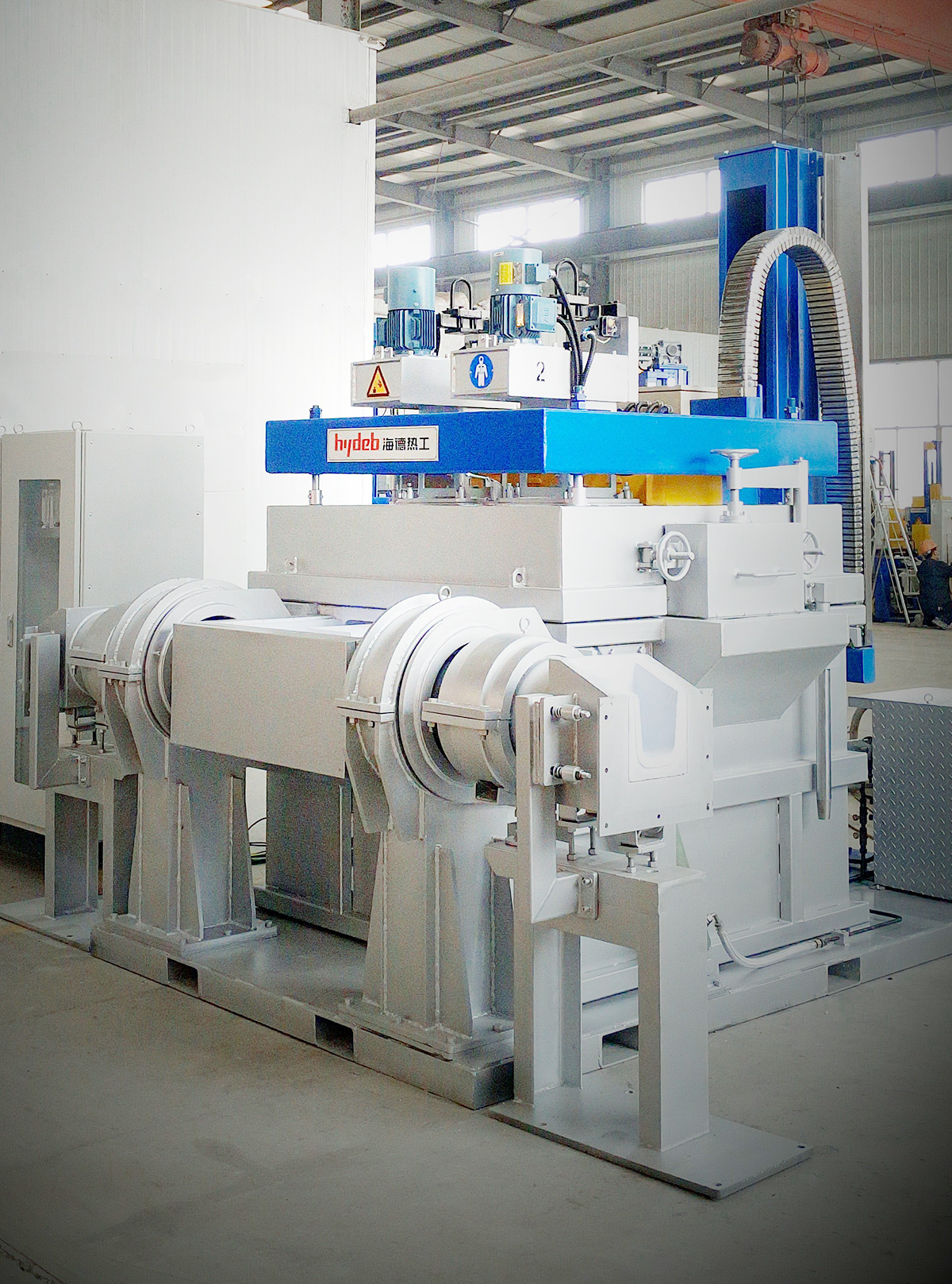 Box type in-line rotor degassing unit (BDU)